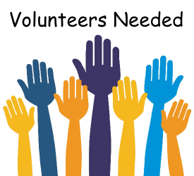 Volunteers – WE NEED YOU!