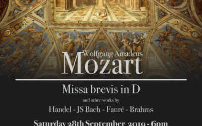 Join The Leconfield Singers for a night of Mozart to raise funds for PCNH