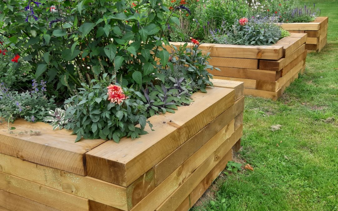 Beautiful raised flowerbeds still a favourite for residents