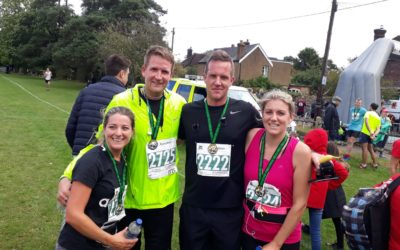 Alicia Osborne completes Barns Green 10k, raising over £500 in the process