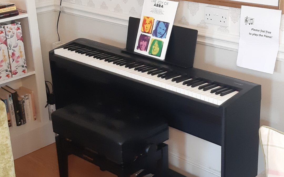 The Cottage is filled with the sound of music thanks to new piano